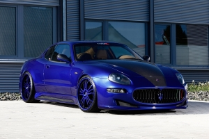 Unique look offers the Maserati 4200 by a tuned tuning
