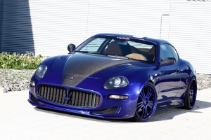 For the Maserati 4200, there is a front grill that radiates more elegance