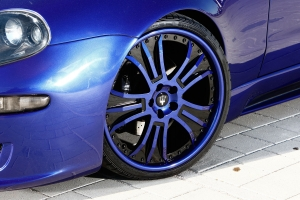 20 inch Maserati alloy wheels in body color