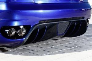 Stoßstange mit großem Heckdiffusor für den Maserati 4200