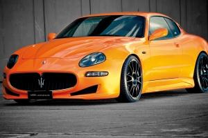 Ein verstellbares KW Gewindefahrwerk verleiht dem Maserati 4200 nicht nur eine bessere Optik, sondern sorgt für ein sportliches Fahrgefühl
