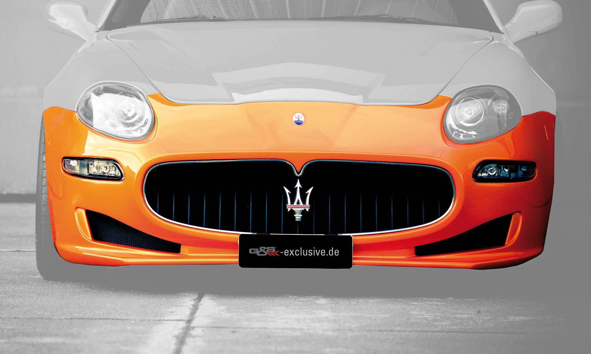 Front bumper for Maserati 4200 EVO