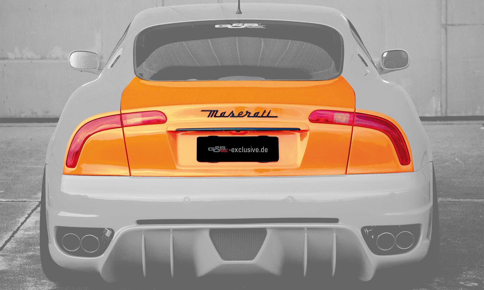 Heckumbausatz 3200 für Maserati 4200 EVO
