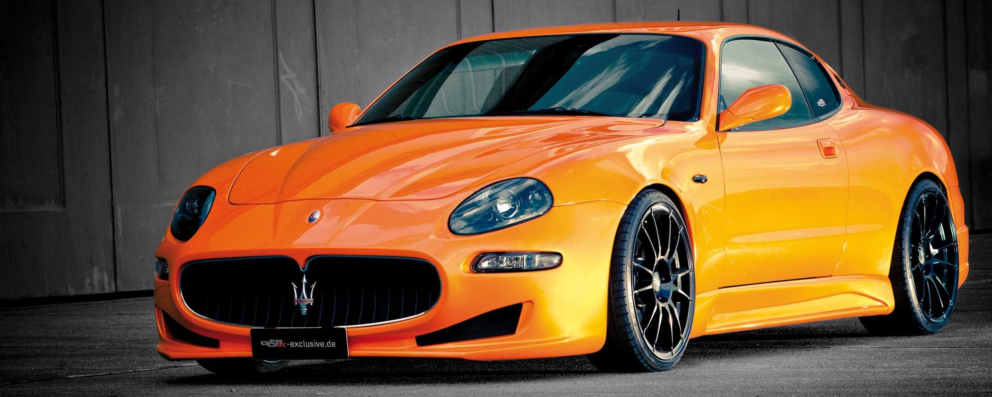 Der getunte Maserati 4200 von G&S Exclusive - tiefer, breiter, schneller