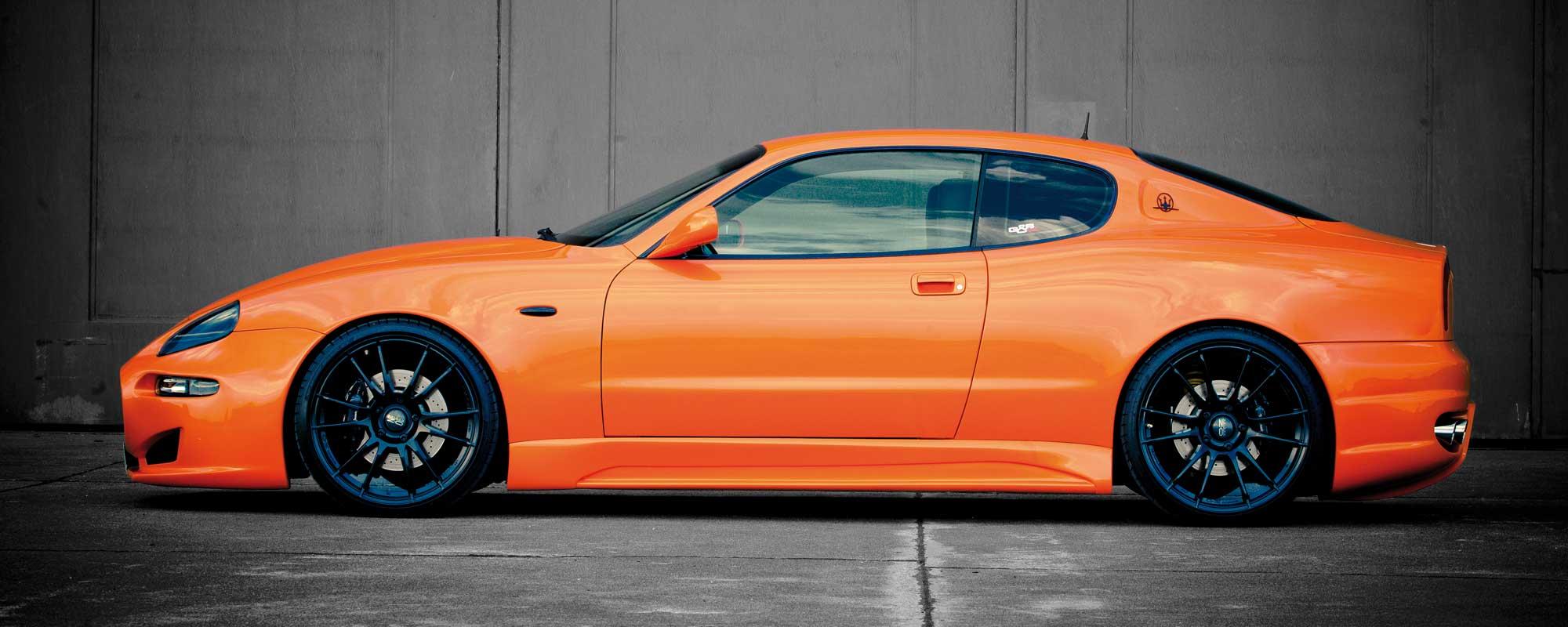 KW Gewindefahrwerk für den Maserati 4200