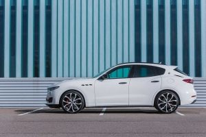 Maserati Levante with exclusive tuning parts