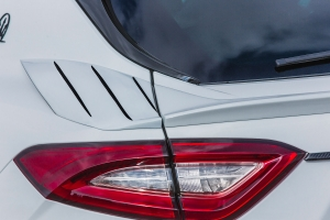 Air inlets with gills for the Maserati Levante