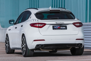 Powerful and just as sleek, the Maserati Levante looks through just a few tuning work