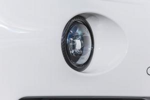 Fog lights carbon rings for the Maserati Levante
