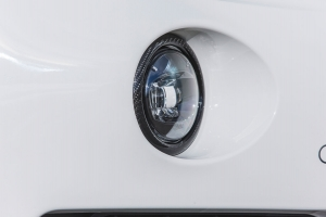 Fog lights carbon rings for the Maserati Levante