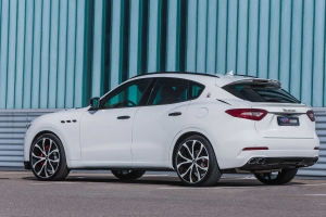 Masculine appearance of the Maserati Levante by refining G&S Exclusive