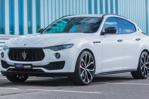 Special components made of carbon fiber for the Maserati Levante