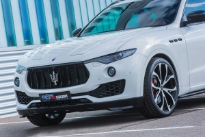 A front lip approach gives the Maserati Levante even more exclusivity
