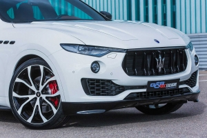 Big alloy wheels for the Maserati Levante in 22 inches
