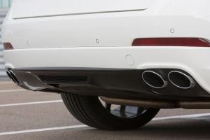 Rear diffuser for the Maserati Levante