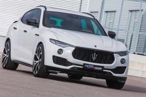 Elegant design through harmonious concepts with carbon fiber and attachments for the Maserati Levante
