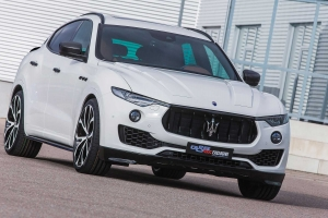 Elegant design through harmonious concepts with carbon fiber and attachments for the Maserati Levante