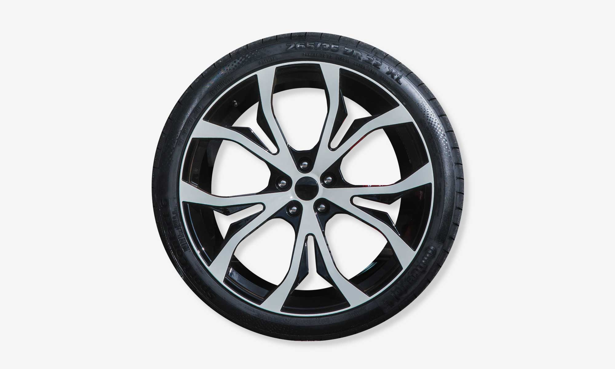 Light alloy wheels for Maserati Levante EVO