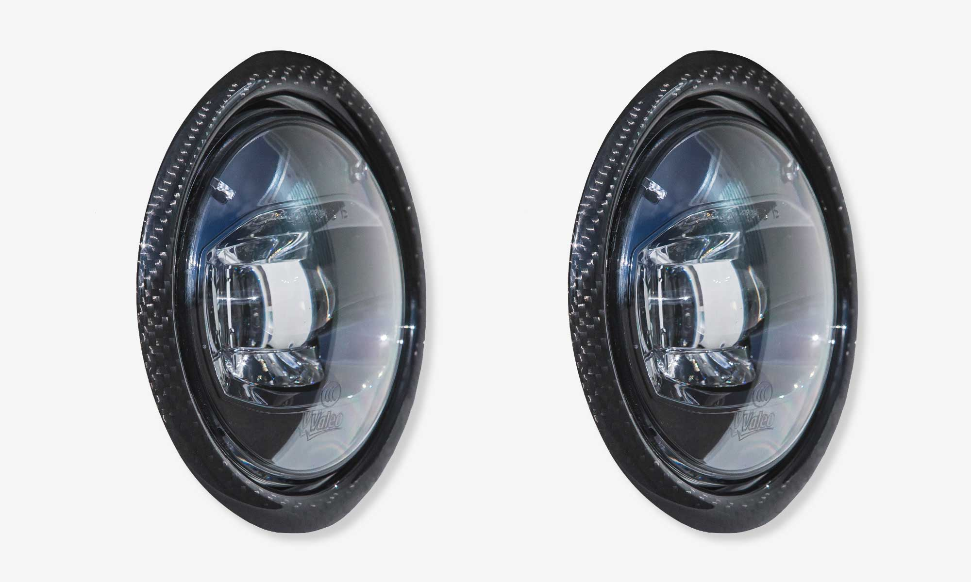Fog lights rings for Maserati Levante EVO